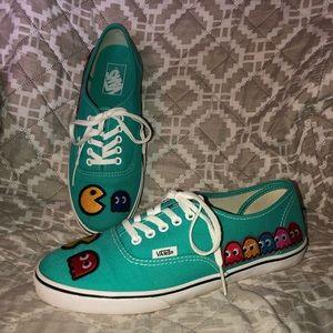 Custom Vans Pac-Man Shoes